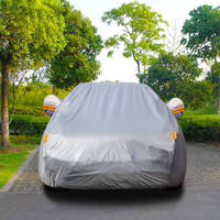 Anti UV Car Cover Snow Sun Shield Frost Dust Resistant for Audi A4 Sedan Wagon S5 Outdoor Protection Car Accessories