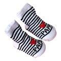 Neue Aktive Baumwolle Unisex Baby, Kleinkind Jungen Mädchen Slip-beständig Boden Socken Liebe Mama Papa Brief Socken Für 0-6Months 15