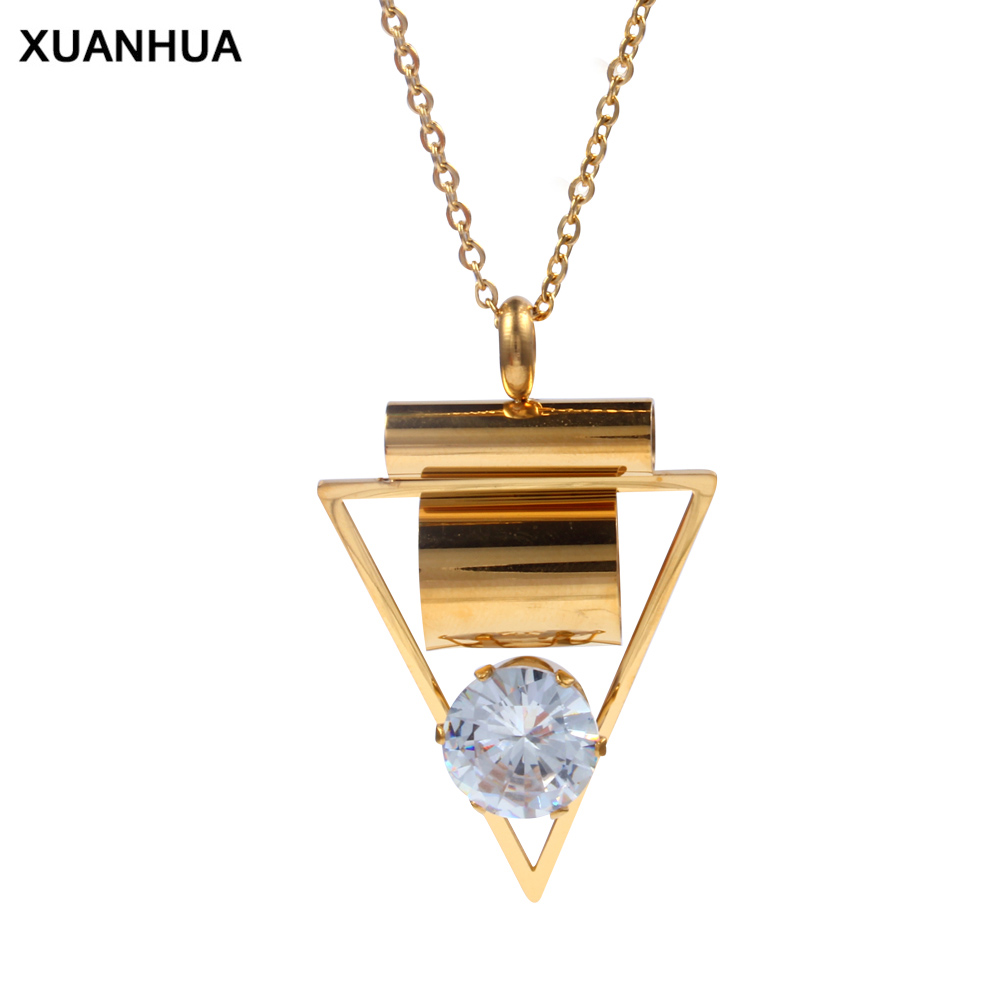 XUANHUA Fashion Necklaces & Pendants Choker Necklace Stone Collares Jewellery Women Jewelry Pendant Necklace Chocker Jewerly