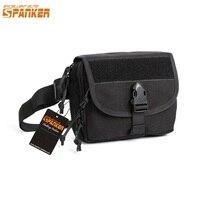EXCELLENT ELITE SPANKER Outdoor Men's Military Shoulder Bags Tactical Utility Molle Pouch Waterproof Tablet Pack Messenger Bag