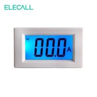 ELECALL D85-240T AC 50A LCD Display Digital Amperímetro Atual do Medidor de Alta Precisão Com a Luz Azul de Volta