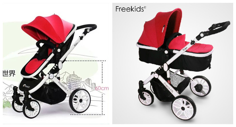 Aliexpress.com : Buy Red,Purple,Blue,Green,Orange,Baby Stroller ...
