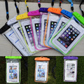 1Pc New Fluorescence Waterproof Underwater Pouch Dry Bag Cases Cover Phone Skins Touchscreen Mobile Phone Bags Random