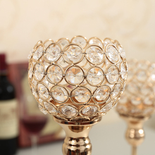 Crystal Decorative Candle Holders