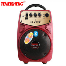 Q2 20W Bluetooth Portable High Power Speaker Lithium Battery Support TF Card USB Disk Playback Support AUX and Microphone