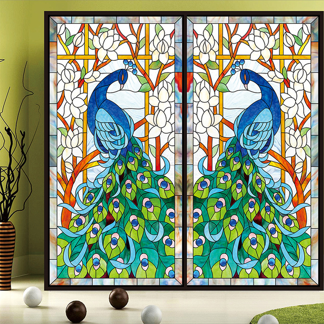 stained glass windows for home modern church custom stained glass stickers for windows church home foil selfadhesive window film