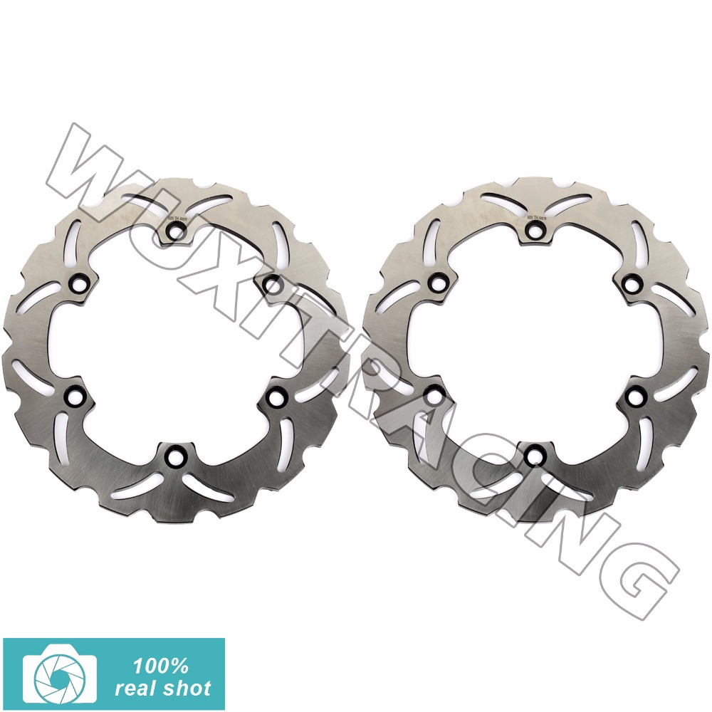 2pcs New Motor Front Brake Discs Rotors for KAWASAKI GPX 600 GPX600 R / Warbird 1988 1989 1990 1991 1992 1993 1994 1995 1996 motorcycle front rear brake pads for kawasaki gpx 600 r zx600 1988 1996 gpx 750 r zx750 1987 1989 zr750 1991 1995 zx100 zx10 p04