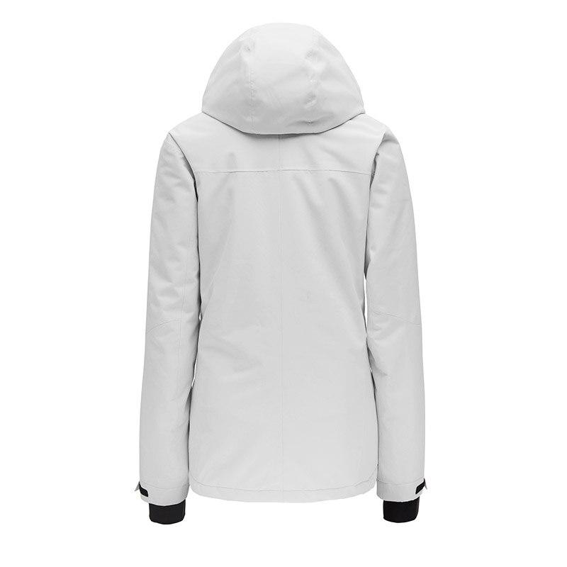 Combinaison de Ski d'hiver femme haute qualité veste de Ski + pantalon neige chaude imperméable coupe-vent Ski snowboard femme Ski costumes - 4