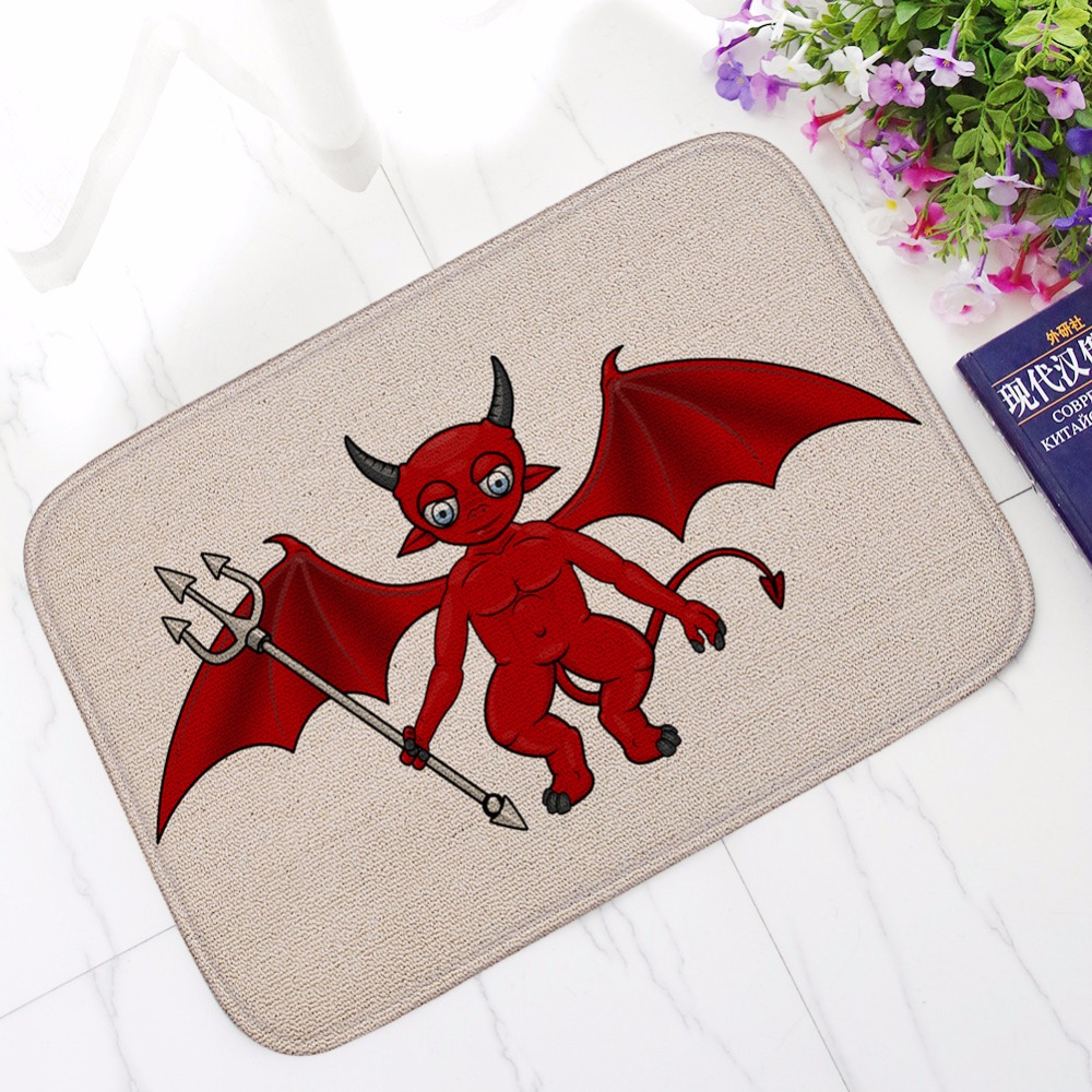 New Halloween Pumpkin Lights Bath Mats Bathroom Kitchen Rug Absorbent Non-slip Carpet Super Funny Welcome Mat Footcloth