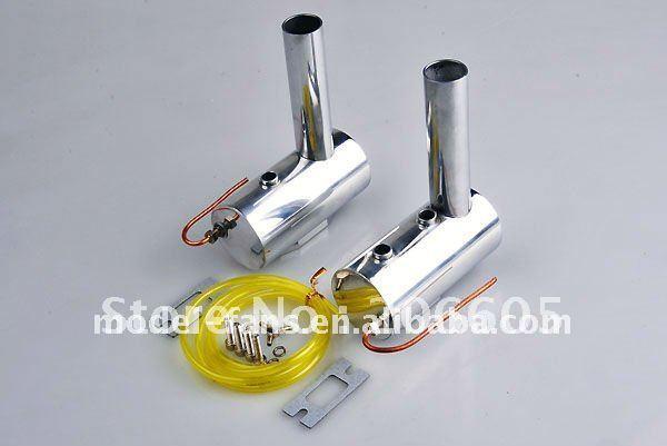 Silenciador de humo para modelo DA100/DLE111 RC