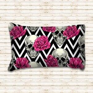 Image 4 - Rose Skull Black Duvet Cover Bedding Set Bed Sheet Twin Full Queen King Size 3PCS