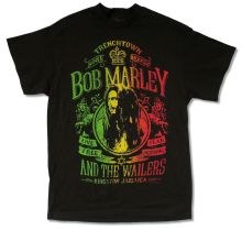 BOB MARLEY LIVE FREE BLACK T-SHIRT NEW OFFICIAL ADULT REGGAE WAILERS JAMAICA Summer Style Fashion Men T Shirts Top Tee black uhuru black uhuru reggae greats