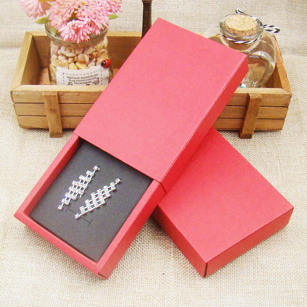 12pcs 4color Jewelry Gift Boxes Cardboard Boxes for Necklaces earring jewelry pendant Packaging display Rectangle11 5 8 2 50cm in Gift Bags Wrapping Supplies from Home Garden
