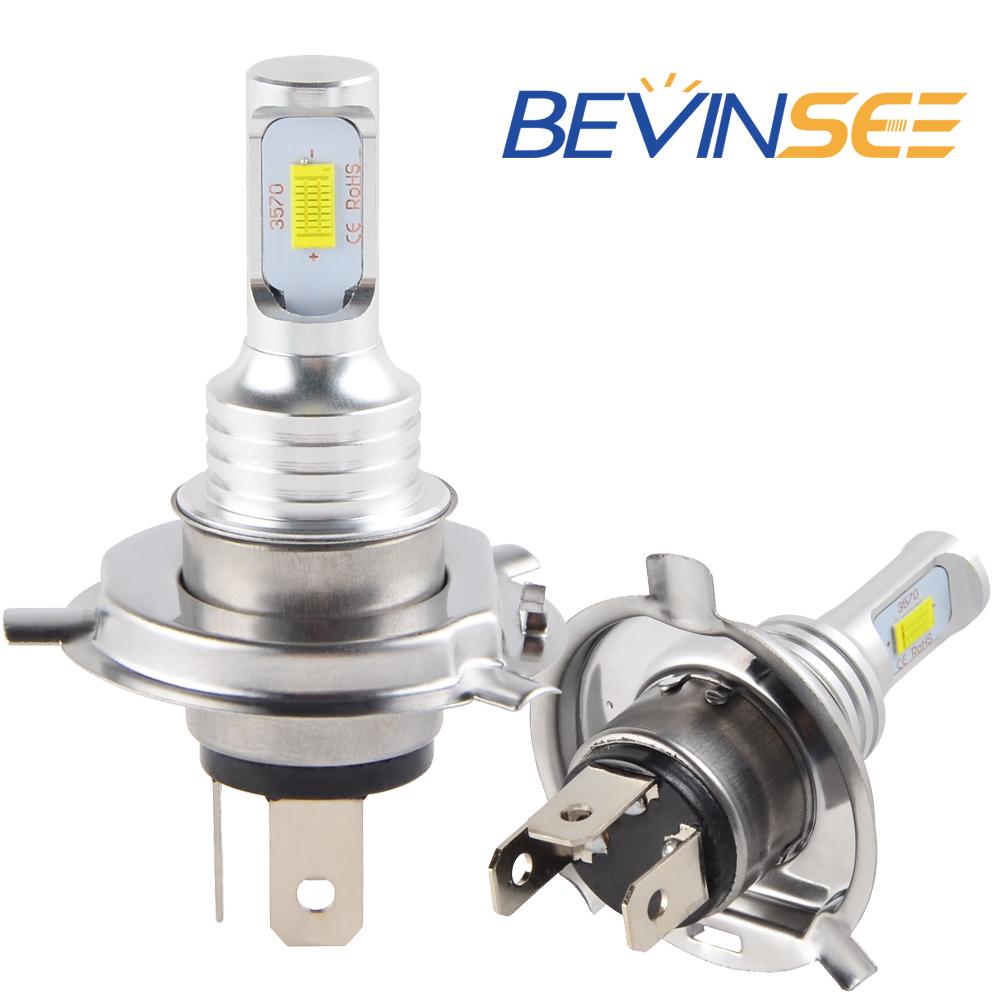 NICECNC 100W/Pair Motorcycle H4 LED Light Headlight Bulbs For BMW R1100R R1100RT R1100RTL R1100RS ABS R1100GS SE 1993-2000 2001