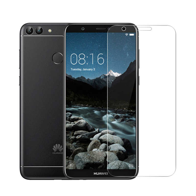 2PCS 2.5D 9H Glass Screen Protectors on For Huawei P20 Lite Honor 6X 7X 8X 8 9 10 Lite V10 HD Tempered Glass Screen Protectors