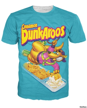 Dunkaroos T-Shirt Printed Fashion Hip Hop Famous Brand Top Tees