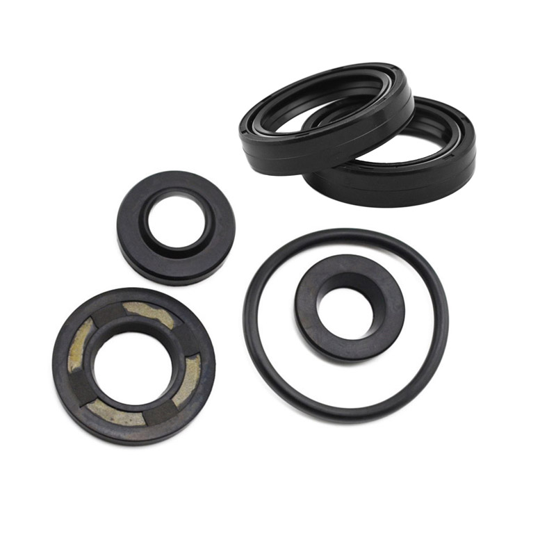 Motorcycle Front & Rear FORK DAMPER OIL SEAL For Yamaha TTR250 TTR 250 ( All Models ) Shock Absorber ahl motorcycle parts motorbike brake pads disks for yamaha ttr250 ttr 250 tt r 250 1999 2006 fa152