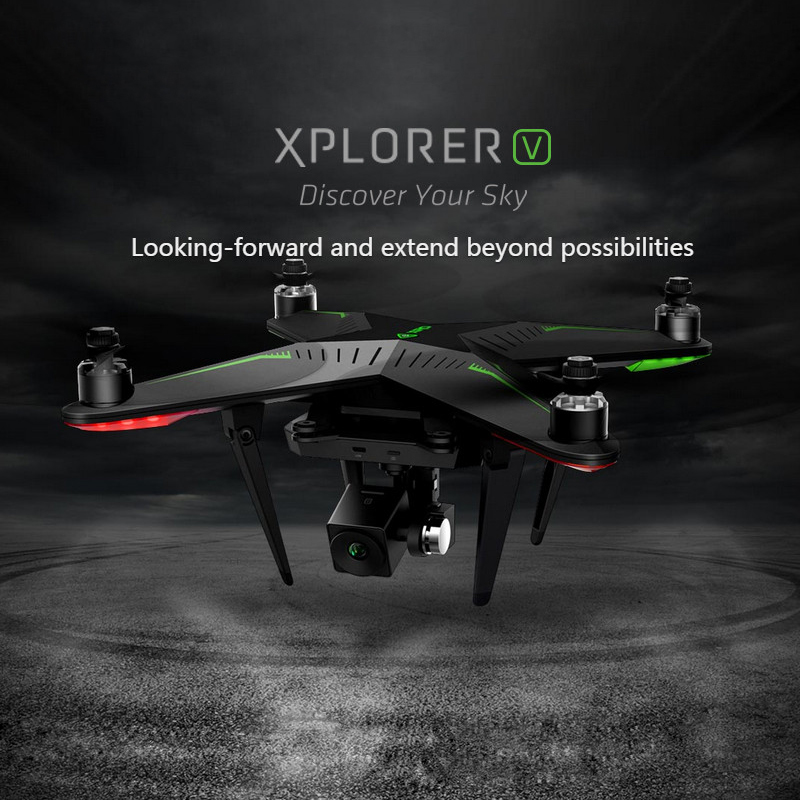 XIRO Zero Xplorer V Professional Helicopter FPV 5.8G 4-Axis RC Quadcopter Drone with 1080P Camera 5200mA Battery freeshipping xiro zero explorer special backpack