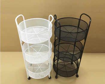 Fruit sales pharmacy. Supermarket shelves. Three layers of hanging basket - Category 🛒 Furniture