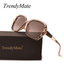 2d83c54a54e De moda gafas De Sol polarizadas De lujo De las mujeres diseñador De la marca  gafas De conducción espejo gafas De Sol Oculos De .