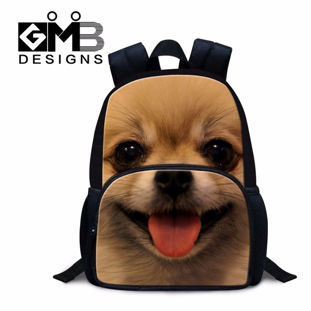 68d5a0975803 Dispalang popular children backpacks cute pet dog puppy print felt backpack  small bookbags for kindergarten baby