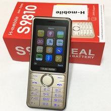 S9810 dual SIM двойной резервный мобильный телефон 2.8 дюймов экран сотовый телефон Русская клавиатура телефон H-mobile S9810