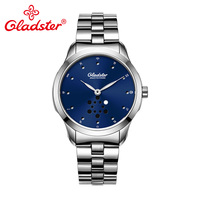 Gladster Luxury Japanese MIYOTA 1L45 Quartz Man Watch Super Luminous Hands Men Wristwatch Waterproof Stainless Steel Male Clock