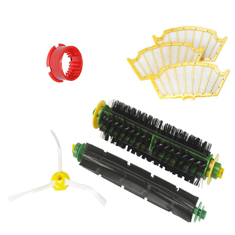 New Brush filter For iRobot Roomba 500 Series 530 540 550 560 570 580 551 561 555 Set in One pack free shipping new 1 x series 5 combi shaver foil 51s for braun replacement pack 8000 360 530 570 560 590 8985 free shipping