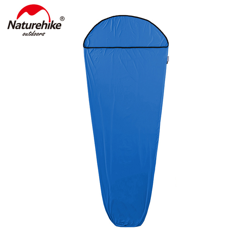 Naturehike Mummy Style Sleeping Bag Linner High Elastic Fiber softable Portable Sleeping Bags NH17N002 D