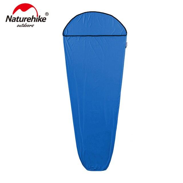 Sac de couchage de Style momie naturetrekking Linner haute Fiber élastique sacs de couchage portables souples NH17N002-D