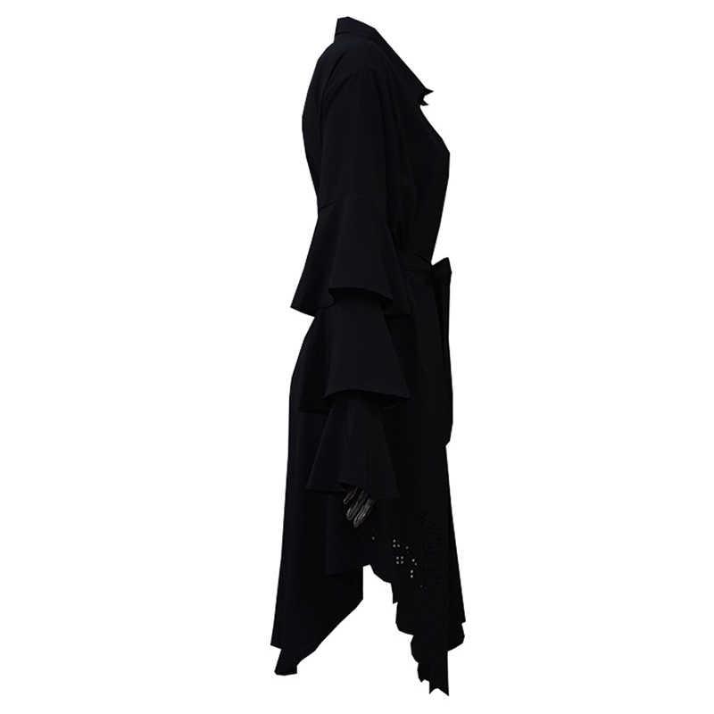 Plus Size 5XL 2019 Arabische Turkije Vrouwen Moslim Lange Top Shirt Abaya Saudi Arabe Lange Tops Ropa Musulmana Mujer Islamitische kleding