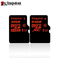 Original Kingston Micro SD Card 32GB 64GB Class 10 SDHC SDXC UHS I U3 Memory Cards