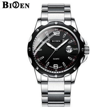 BIDEN Luxury Brand Calendar Quartz Business Men Watch 1