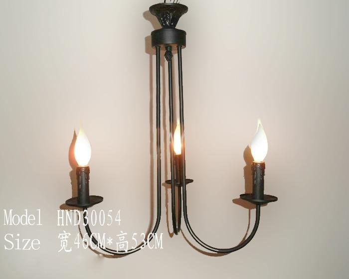 Kronleuchter Eisen Für Kerzen ~ Köpfe schwarz eisen kreative kronleuchter kerze leuchtet