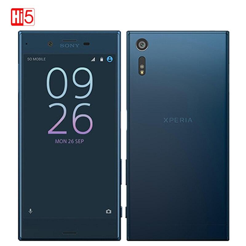 Débloqué Sony Xperia XZ F8331/F8332 3 GB RAM 32 GB ROM WIFI D'empreintes Digitales 2900 mAh GSM 4G LTE Android Quad Core 5.2