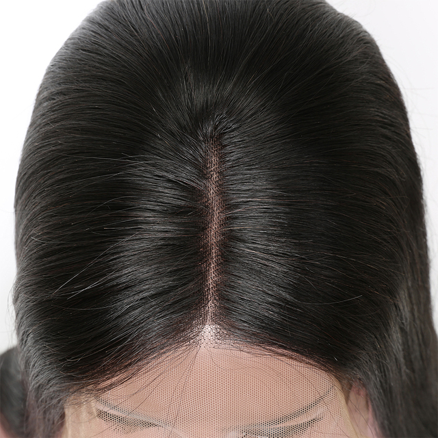 Brazilian Straight Remy Human Hair Lace Front Bob Wig 150% Density