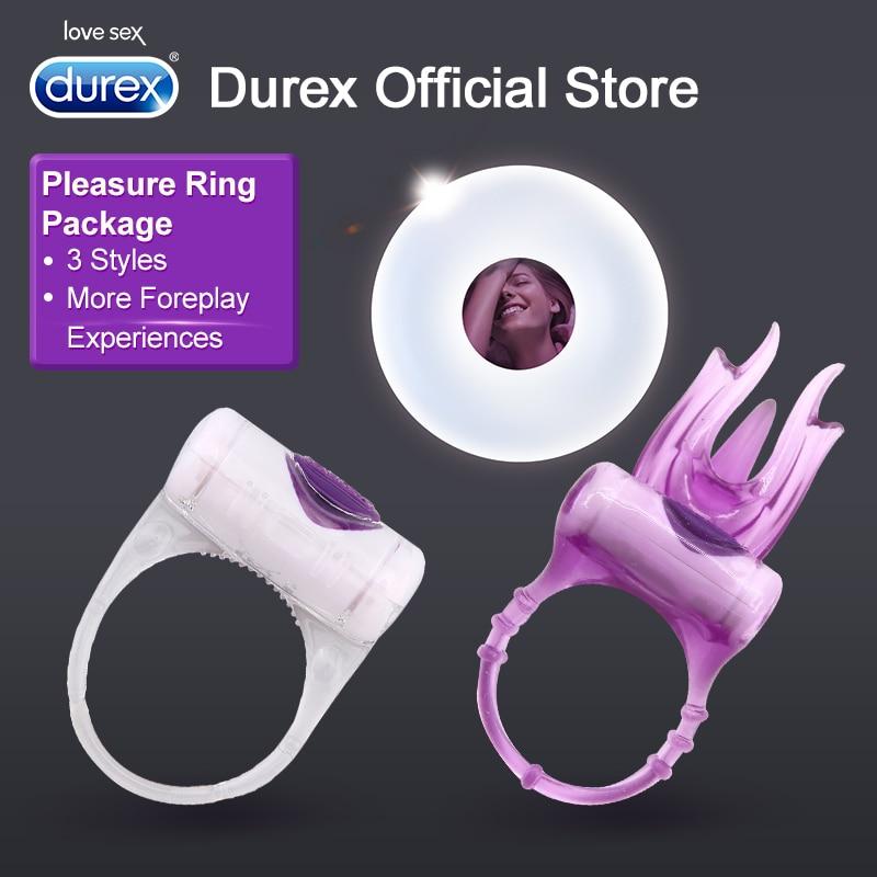 Durex Vibrator Ring Enlargement Extender Clitoris Stimulation Sex Products Intimate Goods Erotic Adult Sex Toys for