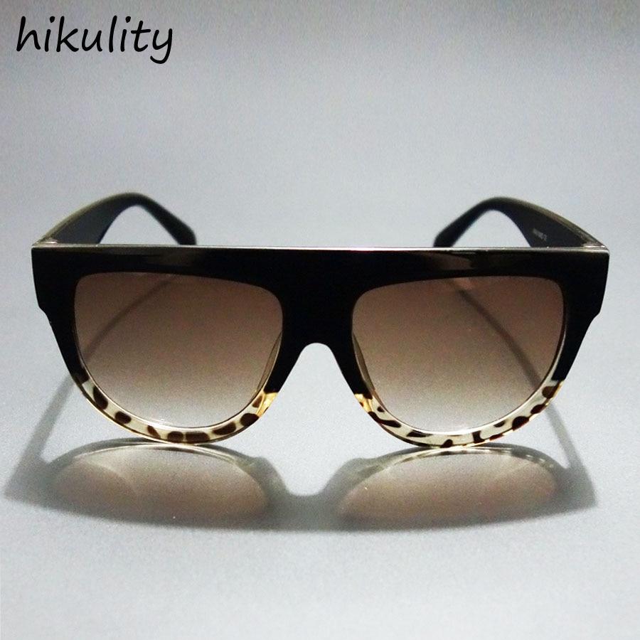 HIKULITY 2016 modna sončna očala za ženske raven vrh modelov - Oblačilni dodatki