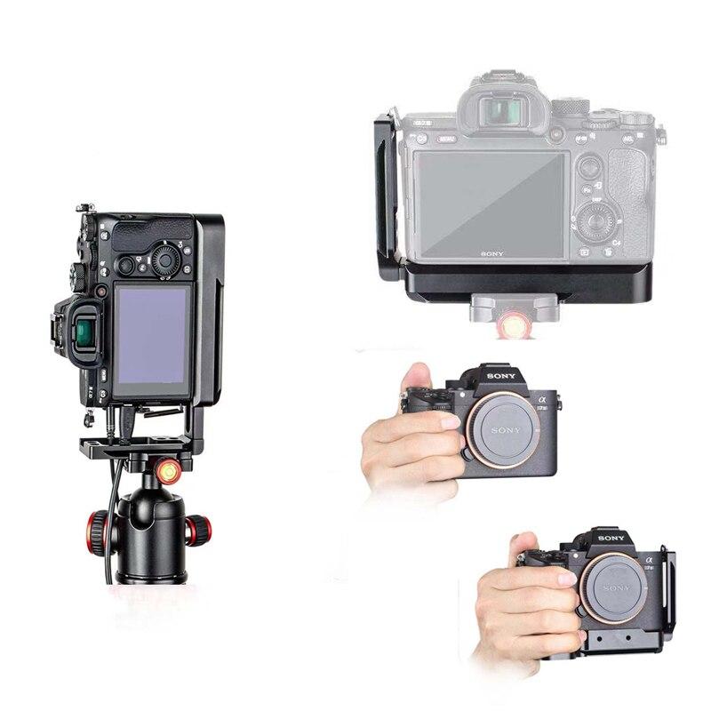 Trépied Monopodes A7M3 A7R3 L Support pour Sony A7SIII A7III A7RIII A9 Arca-swiss Standard L Plaque De Montage Rapide release Plate
