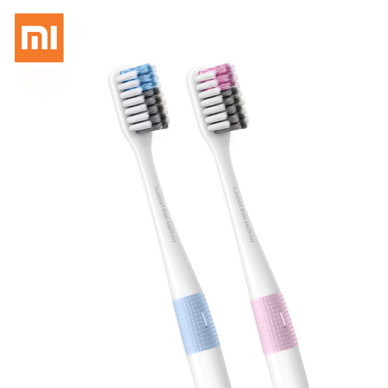 Xiaomi mijia Doctor B Tooth mi brush Deep Clean Bass Method Sandwish-bedded Brush with Travel box Soft tooth mijia brush image
