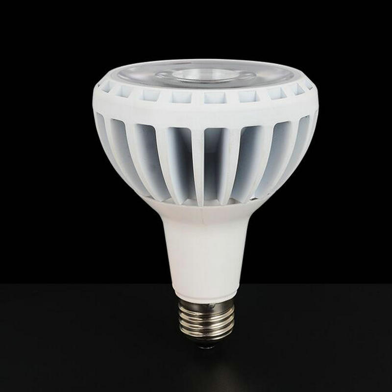 все цены на Free shipping CRI 90% 15W dimmable PAR30 COB LED Light E27 Spotlight LED Bulb Warm|Cold White AC85V-265V онлайн