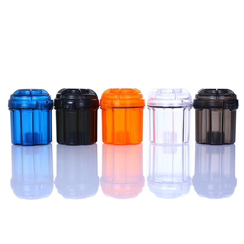 EDC Battery Holder Storage Box Hard Wear-resistant Plastic Case Waterproof Protector Transparent Convenient Outdoor Travel