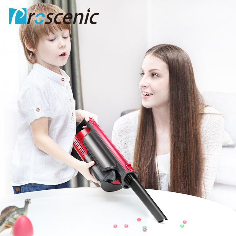 Proscenic I7 Wireless Vacuum Cleaner 2 in 1 Pet Stick Cordless Vacuum Cleaner with LED Motor Brush, Wall Mount and HEPA Filter