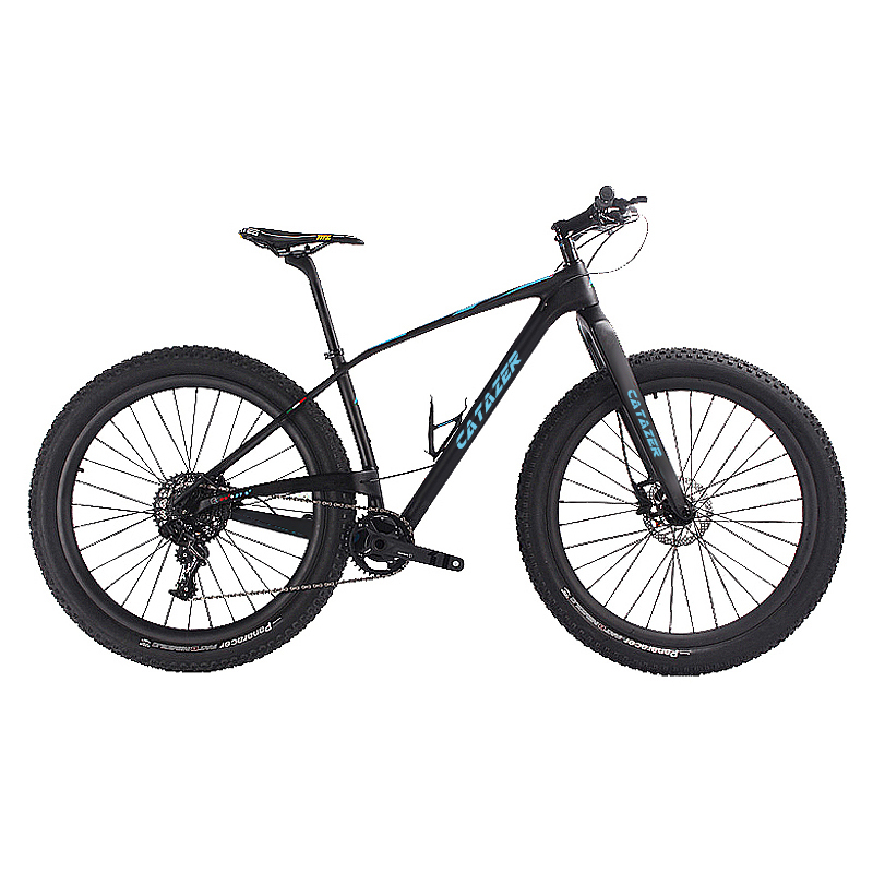 CATAZER Carbon Mountain font b Bike b font 29 Disc Brake MTB Bicycle Frame 22 Speeds