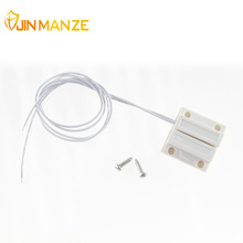 MC-38 1pcs Wired Door Window Sensor 330mm Wire Lengthen Randomly Magnetic Switch Home Alarm System N.C Type Free shipping