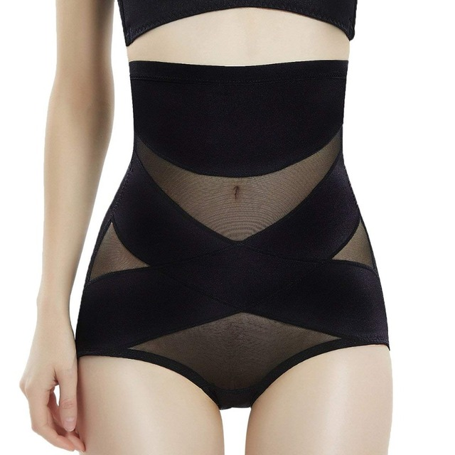 Women Butt Lifter High Waist Tummy Slimmer Thong Panty Minceur Seamless Body Shaper Shorts Tummy Control Hip up Underwear