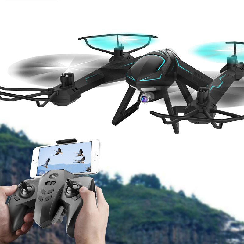 6 Axis Gyro 4CH Drone with WiFi Camera Real-time Transmit FPV Quadcopter Quadrocopter HD Camera Dron 4CH RC Helicopter With Ligh brand new rc drone dron hd camera 2 4g 6 axis gyro rc quadcopter wifi fpv real time video transmission rc drones feilun fx122c6