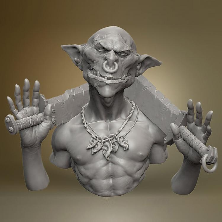 1:12 resina busto resina Kit Noghx ciencia ficción tema sin pintar y sin montar envío libre X134G