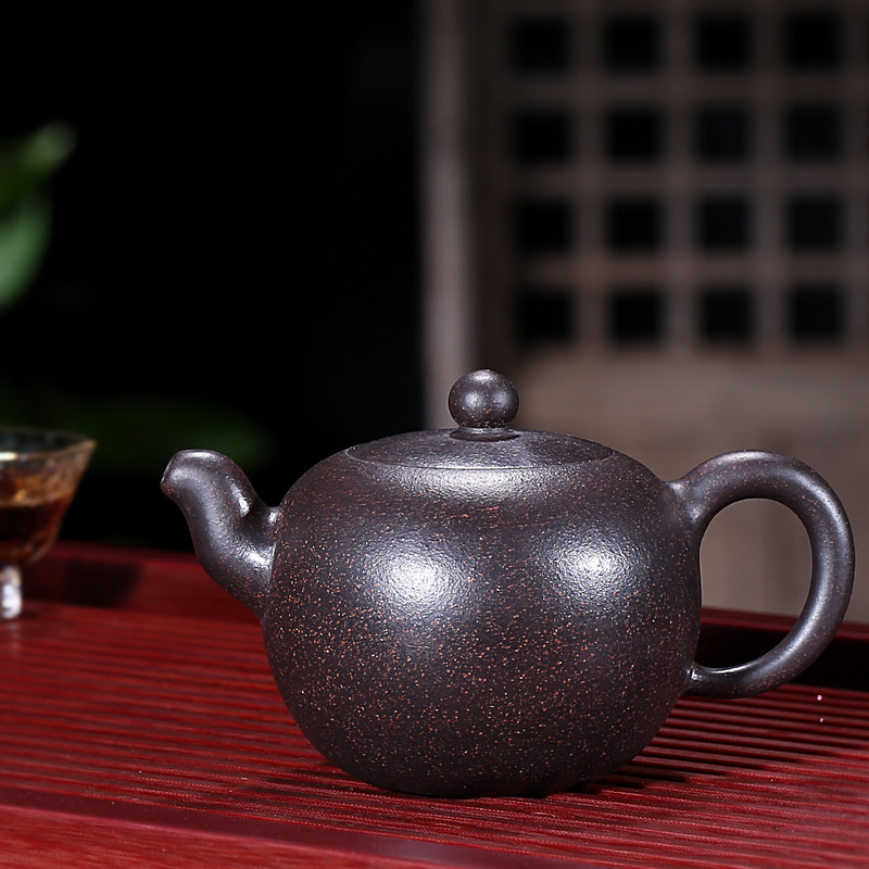Yixing are recommended by the assistantengineer Lu Weiping all hand a single bead ceramic tea-pot travel tea setYixing are recommended by the assistantengineer Lu Weiping all hand a single bead ceramic tea-pot travel tea set