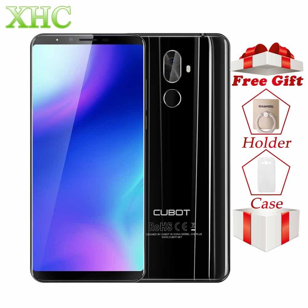 Cubot X18 плюс Android 8,0 5,99 дюймов 18:9 FHD + смартфонов Оперативная память 4G B Встроенная память 6 4G B mt6750t восемь ядер 16MP 13MP Dual SIM 4G мобильный телефон